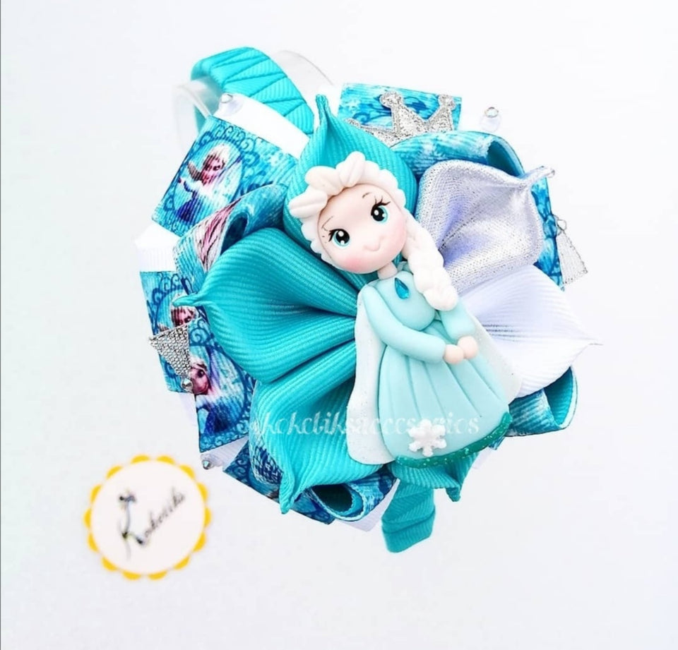 * KOKETIKS - HEADBAND ELSA ** Ribbon Boutique Bow / 4""