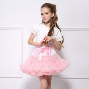 Girls Pettiskirt Tutu size 2t-3t / PINK / Tutu for Girls/Birthday Outfit