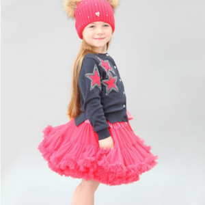 Girls Pettiskirt Tutu size 2t-3t / HOT PINK / Tutu for Girls/Birthday Outfit