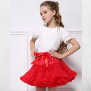 Girls Pettiskirt Tutu size 2t-3t / RED / Tutu for Girls/ Birthday Gift/ Dancing Tutu/Birthday Outfit