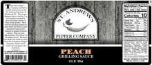 Load image into Gallery viewer, Peach Grilling Sauce