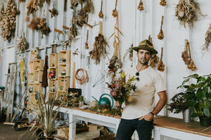 Sweeping Venice Off Its Feet With Rustic Bouquets And A Van Named Untho | The Unlikely Florist