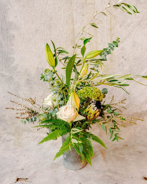 The Deep Breath, Arrangement Delivery, The Unlikely Florist
