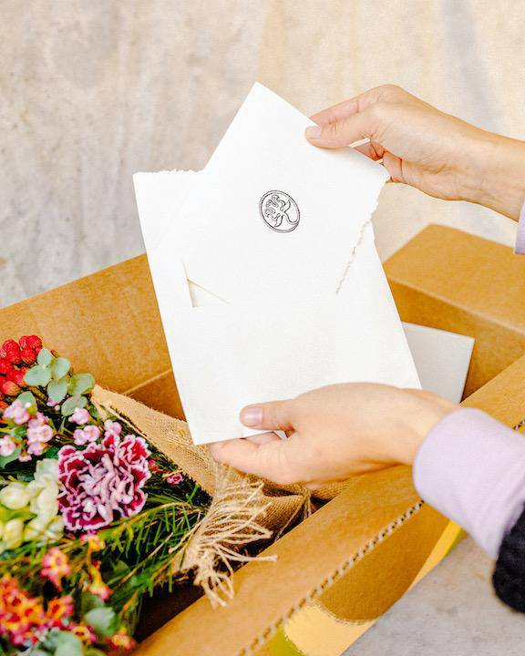 The Giving Box,  Delivery, The Unlikely Florist