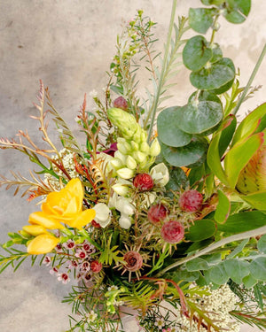 The Unlikely Bush, Arrangement Delivery, The Unlikely Florist