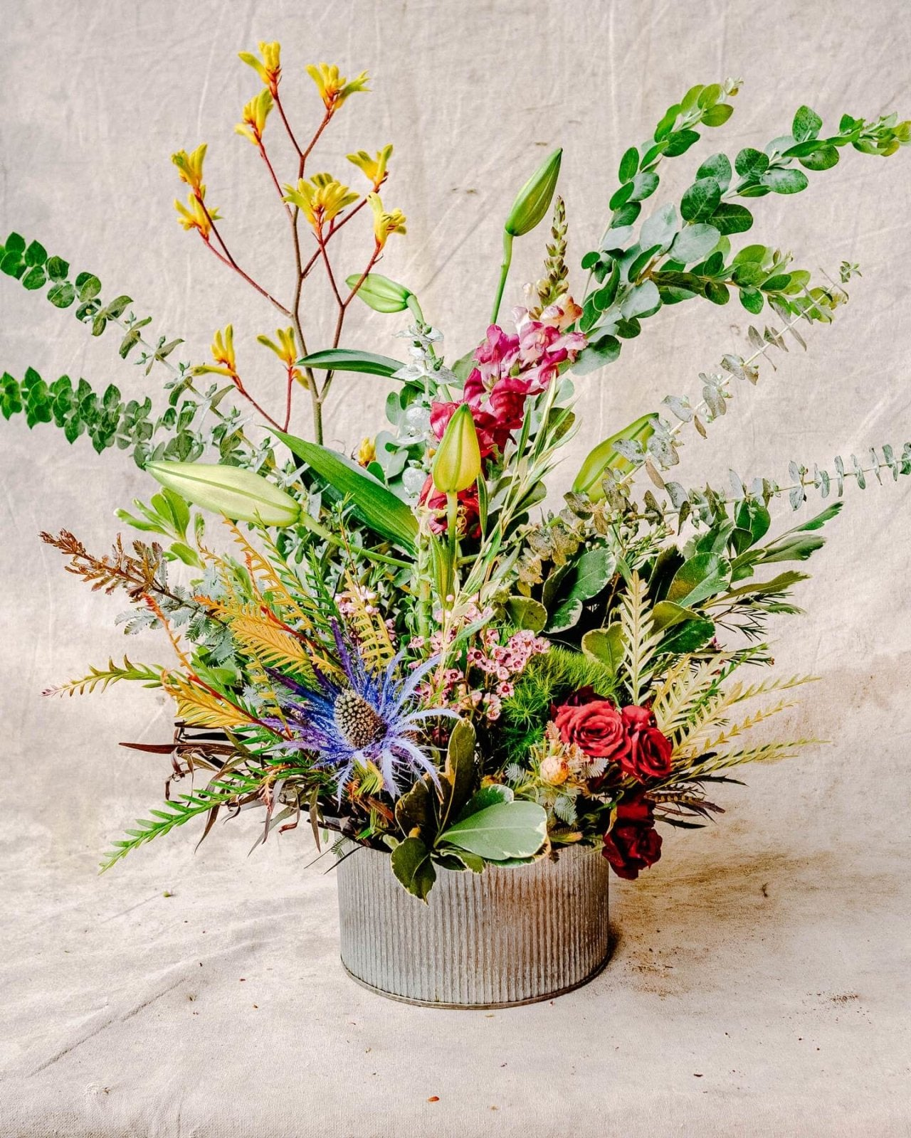 Warm Weather, Arrangement Delivery, The Unlikely Florist
