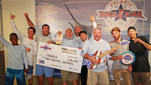 'CABANA' HONORED AS GRAND CHAMPIONS AT 2021 PELAGIC ROCKSTAR TOURNAMENT