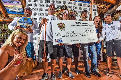 TEJAS REPEATS IN CABO AS 2019 PELAGIC TRIPLE CROWN CHAMPION
