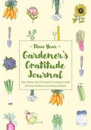 Book -Gardener's Gratitude Journal - Three Years