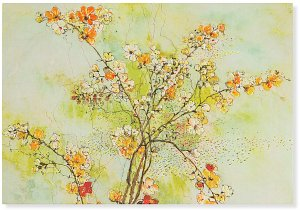 Dogwood Blossoms Boxed Notecards