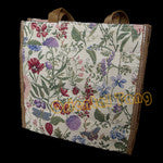 Bag Lunch Floral Tapestry