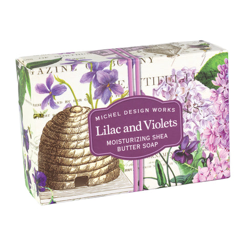 Soap Boxed Lilac and Violet