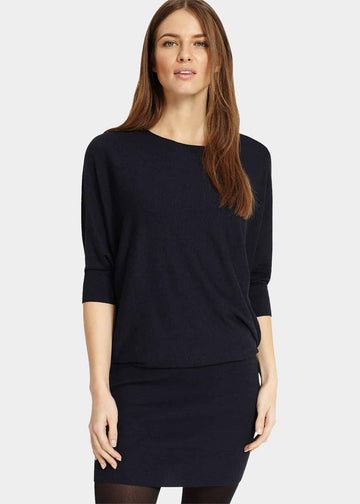 Becca Batwing Knitted Dress