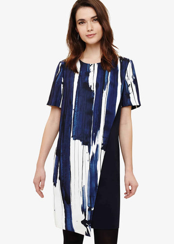 Miriam Brushstroke Dress