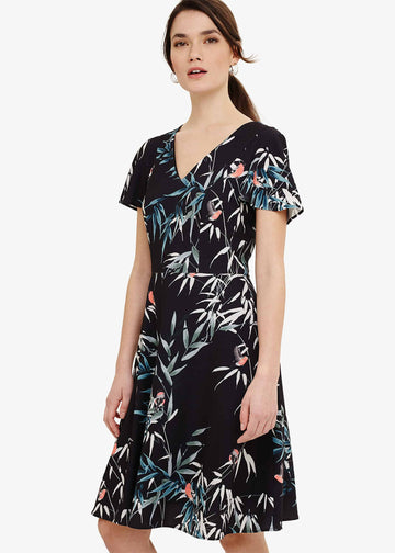 Jay Bird Print Dress