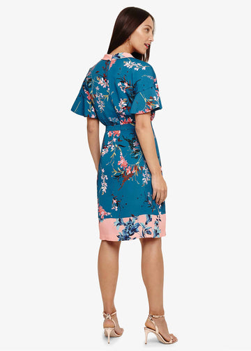 Dianah Floral Print Dress