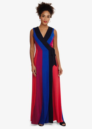 Magdala Colour Block Maxi Dress