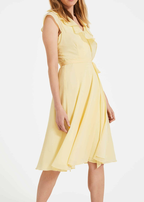 Allegra Wrap Dress
