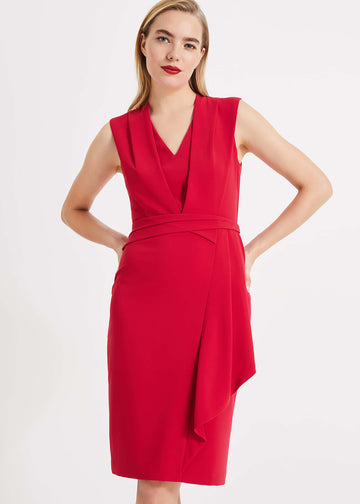 Clarissa Drape Detail Dress
