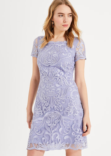 Natalia Embroidered Dress