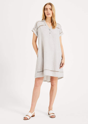 Arla Linen Swing Dress