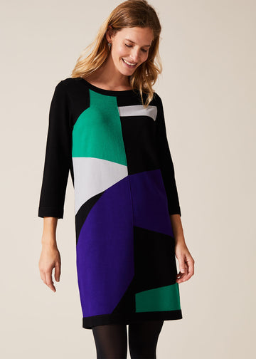 Caleigh Colourblock Dress