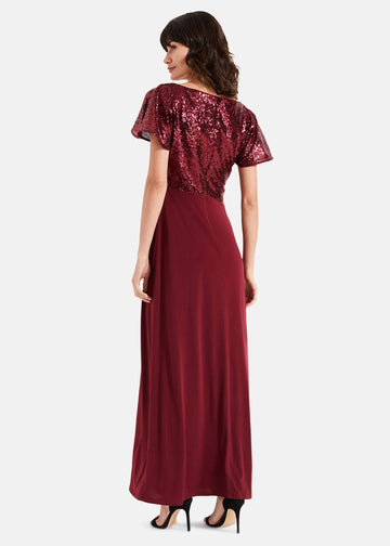 Rumi Knot Front Maxi Dress