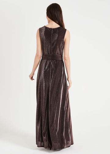 Evelyn Shimmer Maxi Dress