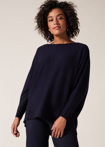 Eve Exposed Seam Jumper