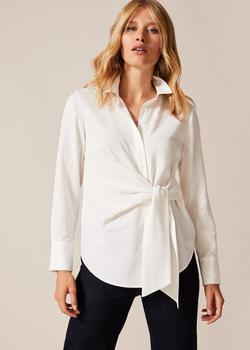 Ash Tie Side Shirt