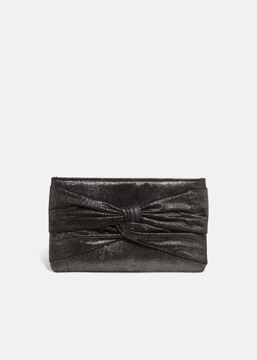 Keri Metallic Clutch Bag