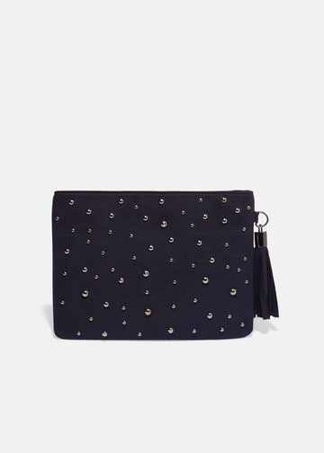 Joss Jewel Front Clutch Bag