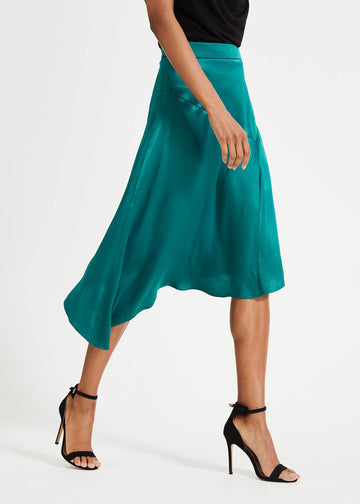 Noreen Satin Skirt