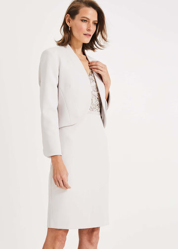 Caroline Peplum Back Jacket