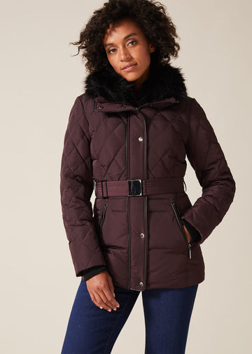 Deasia Quilted Puffer Jacket