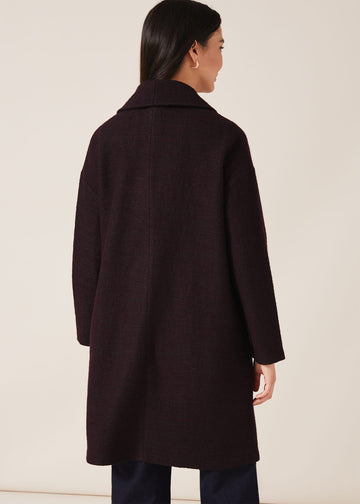 Sally Shawl Collar Knit Coat