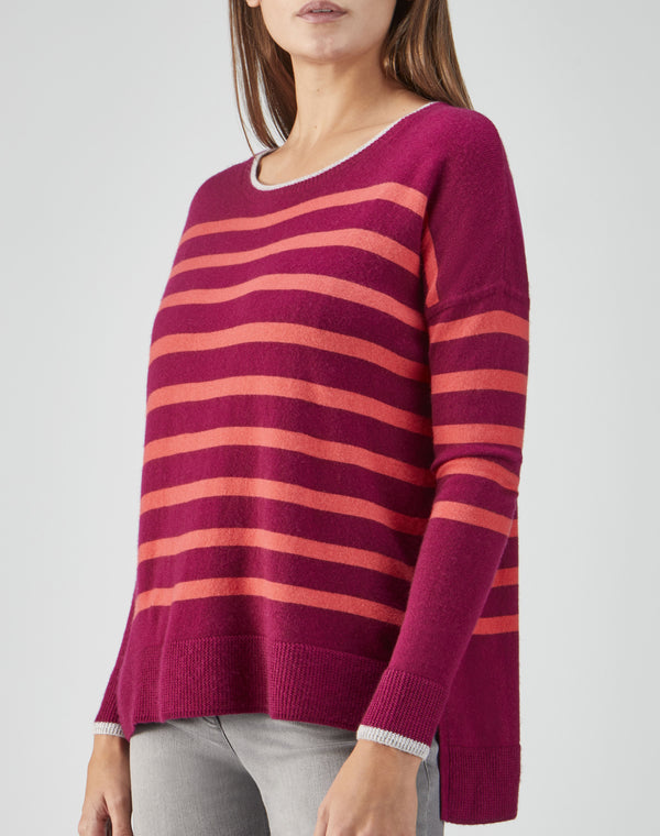 Toccato Relaxed Split Hem Sweater