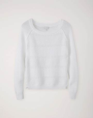 Soft Cotton Textured Sweater