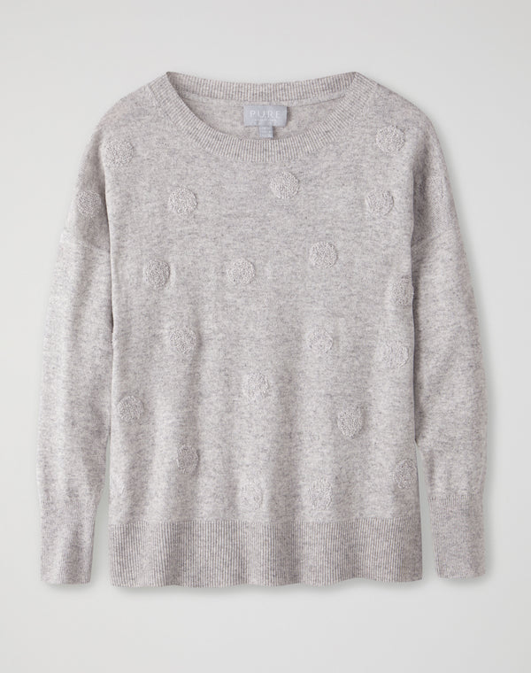 Relaxed Split Hem Sweater