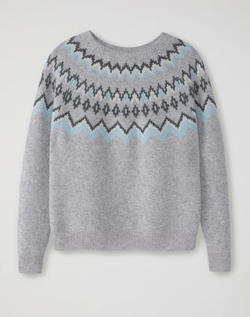 Fairisle Yoke Sweater
