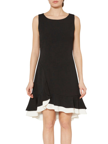 Alba Crepe Layered Dress