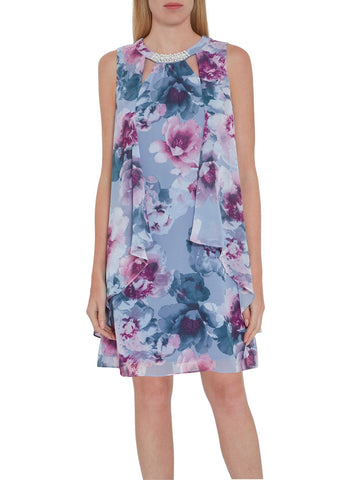 Alyona Floral Chiffon Dress