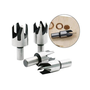 4/8 PCS Plug Cutter Drill Bit Set