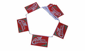 Christmas - Merry Christmas Flag Bunting