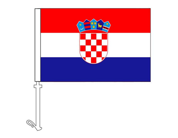 Croatia - Car Flag