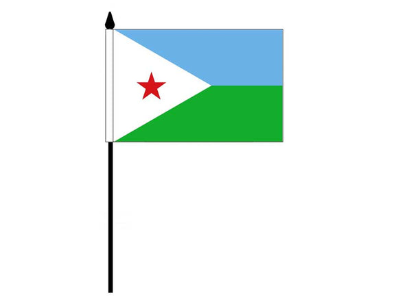 Djibouti (Desk Flag)
