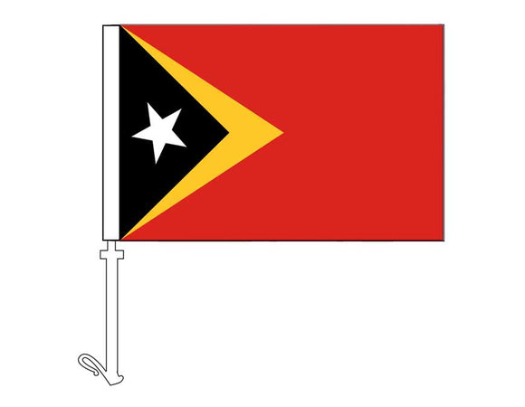 East Timor - Car Flag