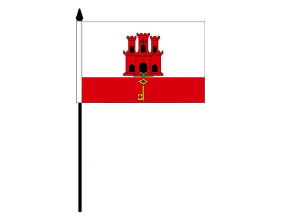 Gibraltar  (Desk Flag)