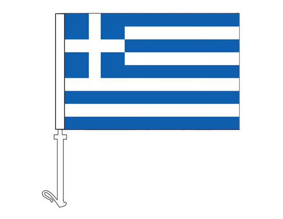 Greece - Car Flag