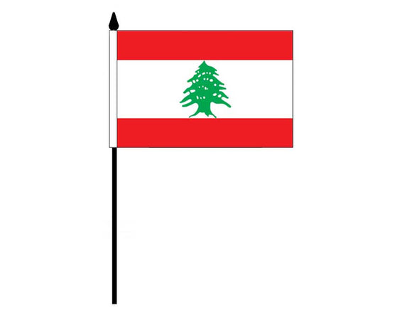 Lebanon  (Desk Flag)